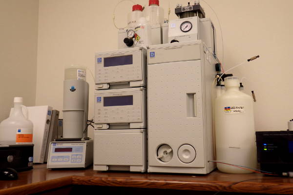 Dionex ion chromatography